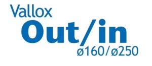 Etykieta Vallox Out/In 160/250