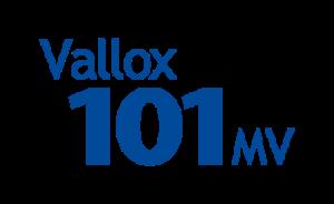 Vallox 101 MV, etykieta